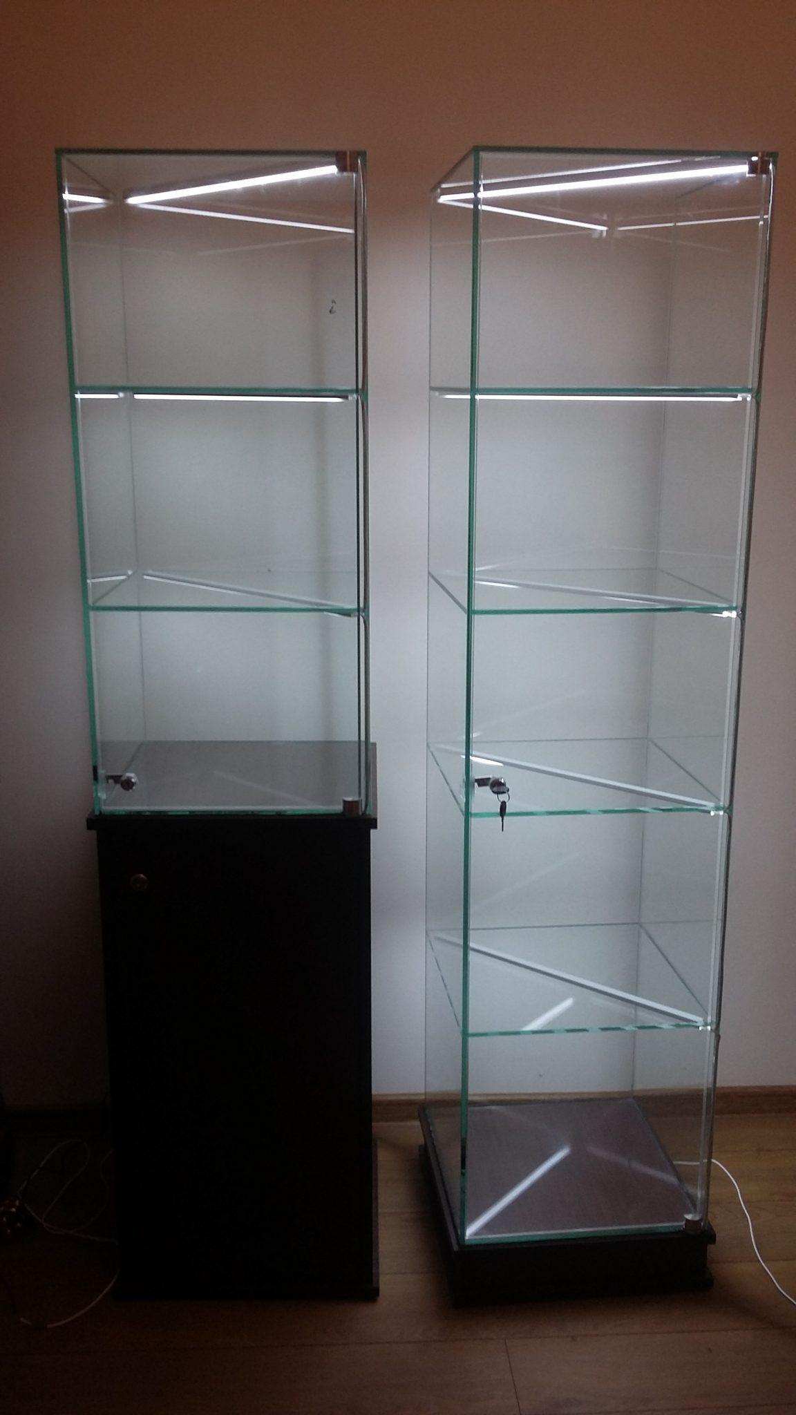 Znany Kiedy może przydać się szklana szafa? Gabloty i witryny - Arte-Bis @QA-41